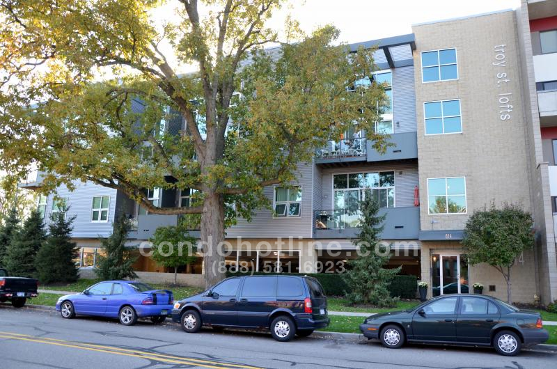 Troy Street Lofts Condo - Royal Oak
